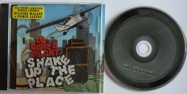 Cover: 10 Ft. Ganja Plant - Shake Up The Place-2011-YARD
