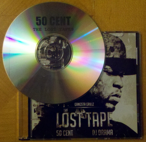 Cover: 50 Cent - The Lost Tape (Gangsta Grillz)-Bootleg-2012-FiH