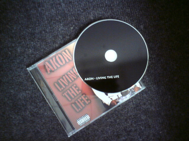 Cover: Akon - Living The Life-(Bootleg)-2011-H3X
