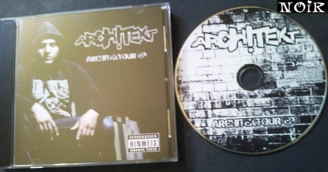 Cover: Architekt - Architektour-EP-DE-2011-NOiR