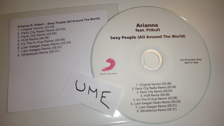 Cover: Arianna Feat Pitbull - Sexy People (All Around The World)-Promo-CDR-2013-UME