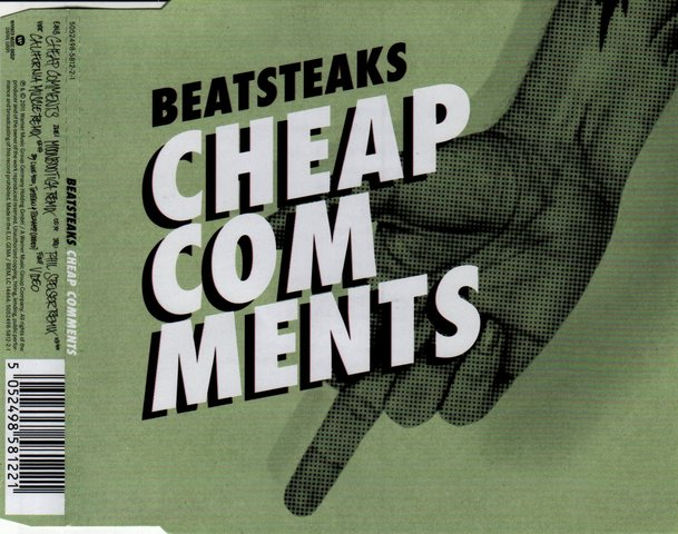 Cover: Beatsteaks - Cheap Comments-CDM-2011-YSP
