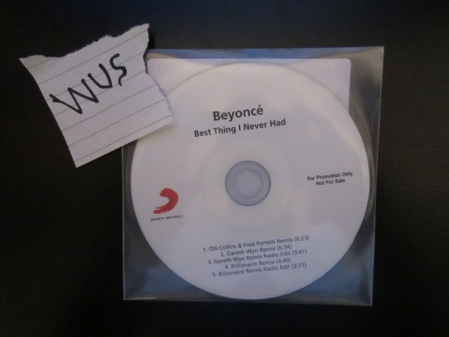 Cover: Beyonce - Best Thing I Never Had-Promo_CDM1-2011-WUS