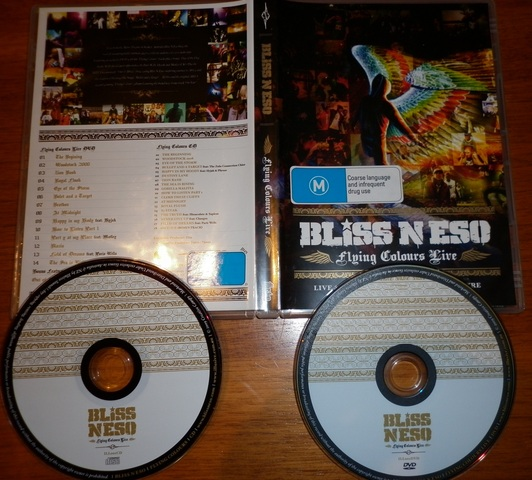 Cover: Bliss N Eso - Flying Colours-(Deluxe_Edition)-2009-FTD
