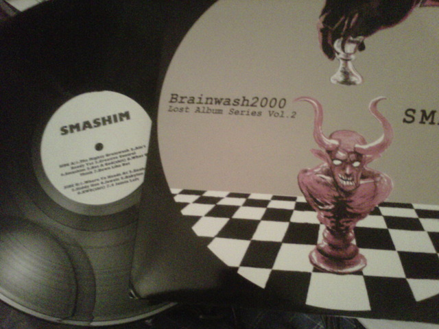 Cover: Brainwash2000 - The Lost Album Series Volume 2 (Shashim)-Vinyl-2012-CMS