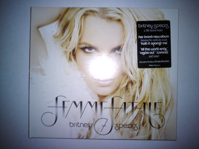 Cover: Britney Spears - Femme Fatale-2011-H3X