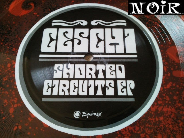 Cover: Ceschi - Shorted Circuits EP-Limited_Edition_Vinyl-2011-NOiR