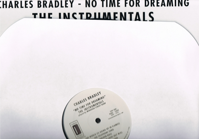 Cover: Charles Bradley (Menahan Street Band) - No Time For Dreaming Instrumentals-Vinyl-2011-CMS