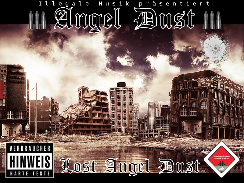 Cover: Angel Dust - Lost Angel-Dust (2010)