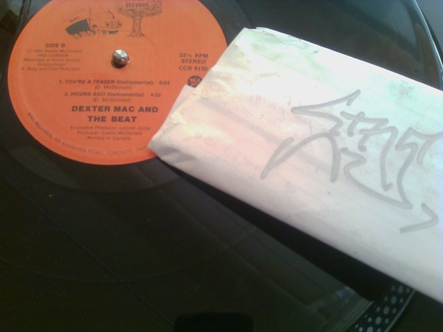 Cover: Dexter Mac and the Beat - Youre A Teaser-VLS-1985-CMS