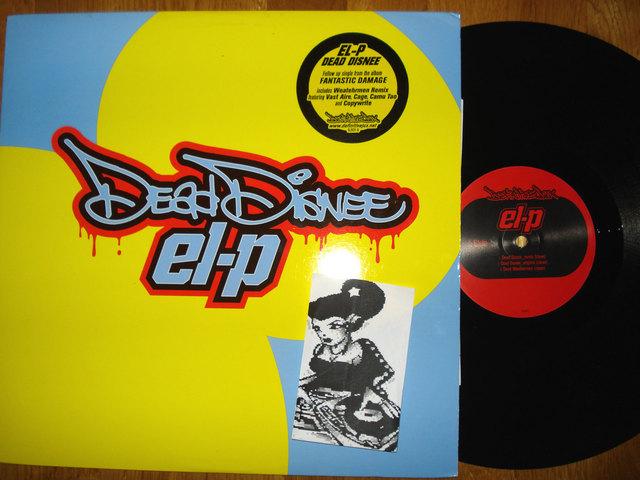 Cover: El-P - Dead Disnee-(DJX31)-VLS-2002-GCP_INT