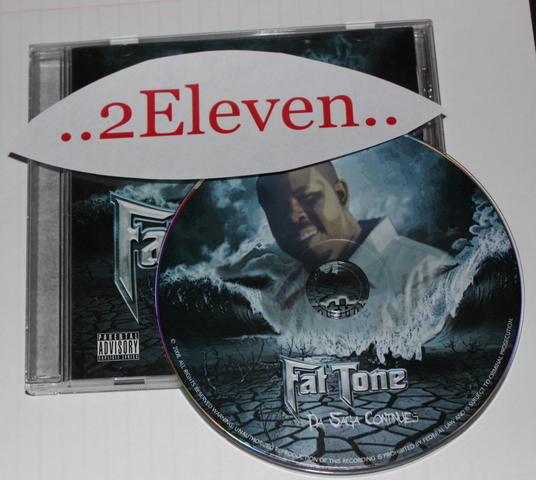 Cover: Fat Tone - Da Saga Continues-CD-FLAC-2008-2Eleven