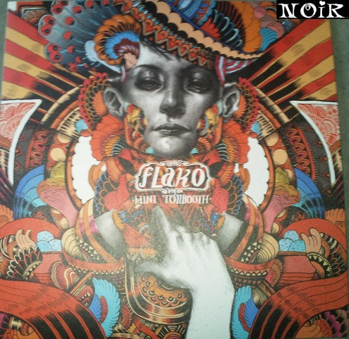 Cover: Flako - Mini Tollbooth-Vinyl-EP-2010-NOiR