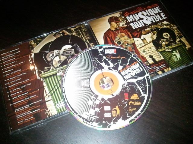 Cover: G-Zon De La Meute - Musique Nuisible-FR-2011-H5N1