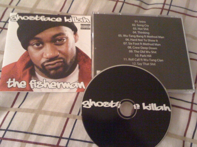 Cover: Ghostface Killah - The Fisherman-Bootleg-2011-FTD