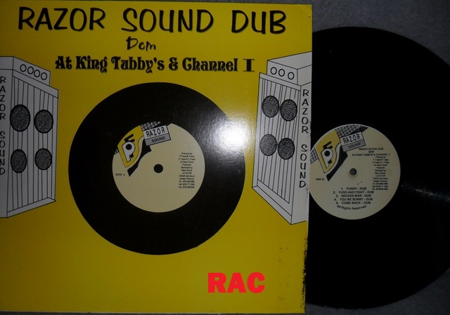 Cover: King Tubby - Razor Sound Dem At King Tubbys And Channel 1-Reissue_LP-2010-RAC
