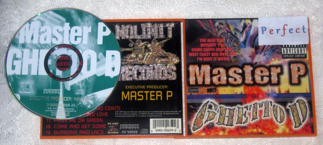 Cover: Master P - Ghetto D-CD-FLAC-1997-PERFECT