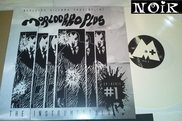 Cover: Morlockk Dilemma - Morlockko Plus 1 the Instrumentals-Vinyl_EP-2011-NOiR