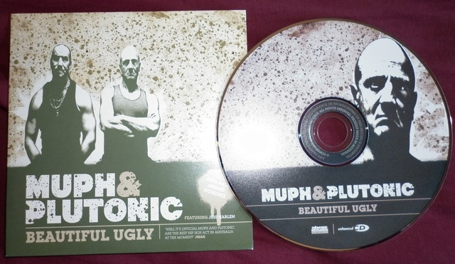 Cover: Muph and Plutonic - Beautiful Ugly-CDS-2008-FTD