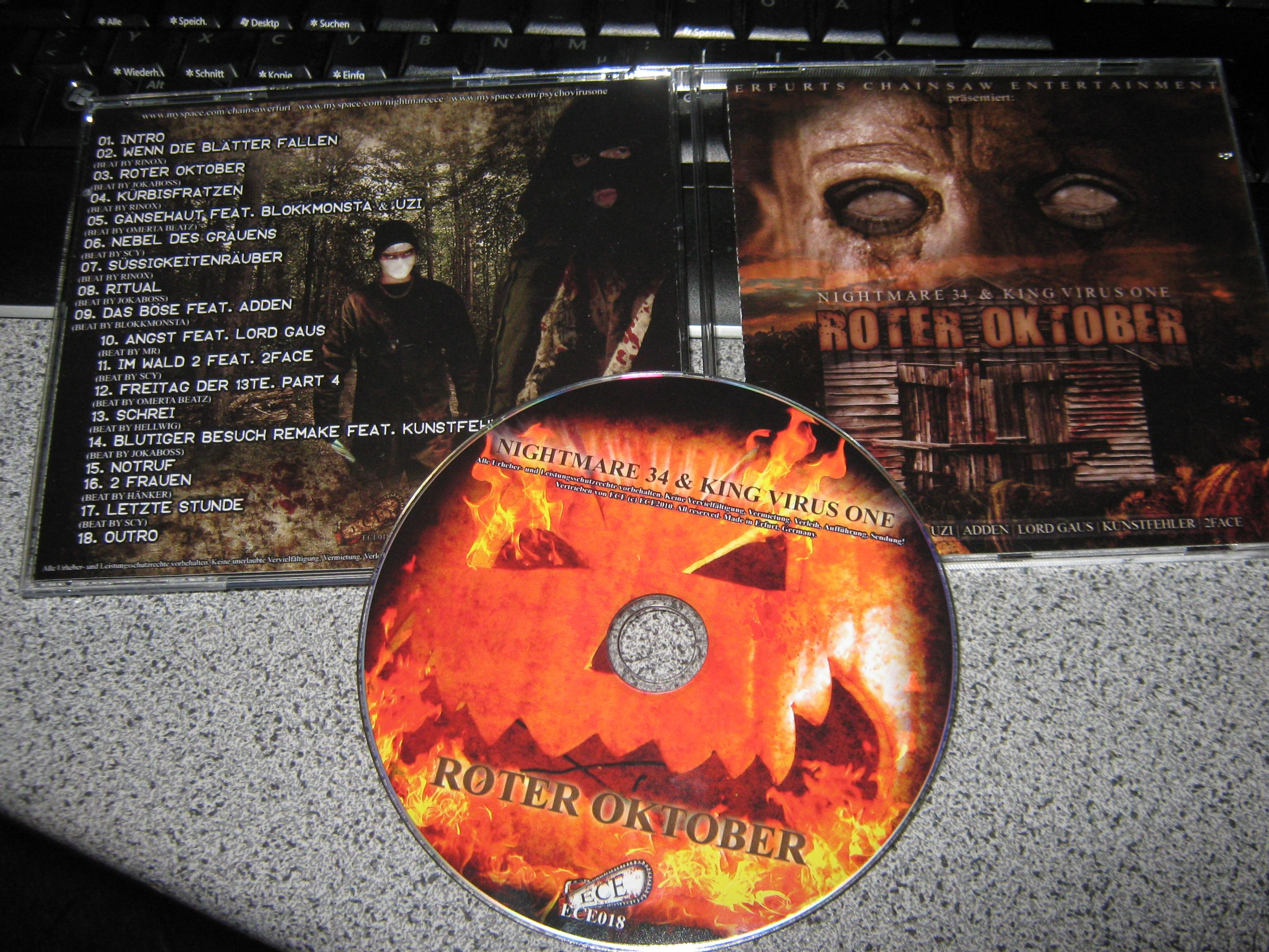 Nightmare 34 and King Virus One-Roter Oktober-DE-2010