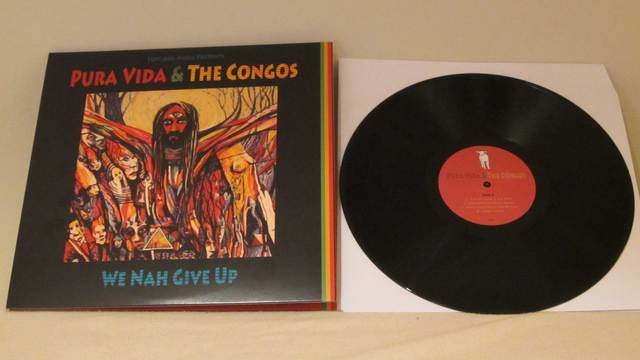 Cover: Pura Vida And The Congos - We Nah Give Up-(2xVinyl)-2011-H3X