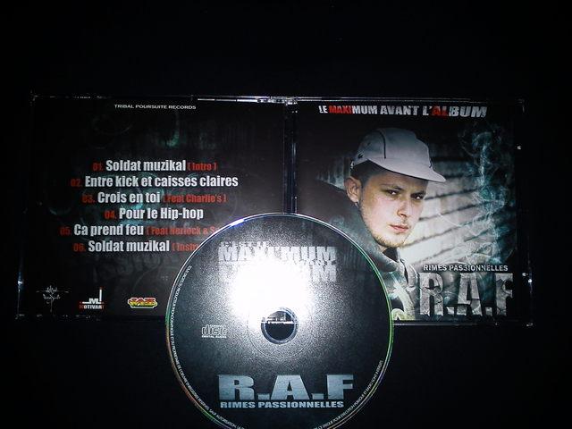 Cover: R.A.F - Rimes Passionnelles-(CDM)-FR-2011-H5N1