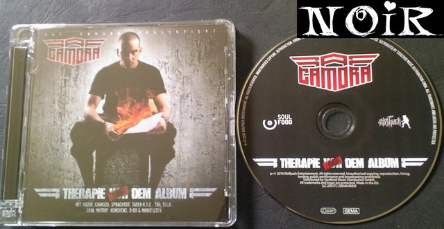 Cover: Raf Camora - Therapie Nach Dem Album-DE-2010-NOiR
