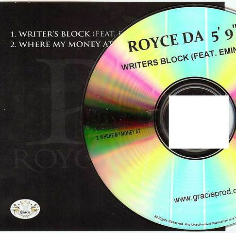 Cover: Royce Da 59 - Writers Block (Feat Eminem)-(CDS)-2011-MTD