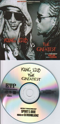 Cover: [NUKED]-S.dub - Young S.dub vs The Greatest-Mixtape-CDR-2010-FATHEAD