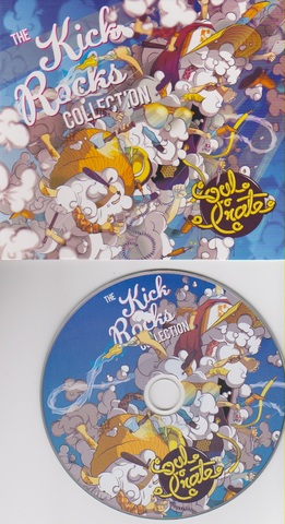 Cover: Soulcrate Music - The Kick Rocks Collection EP-2011-FATHEAD