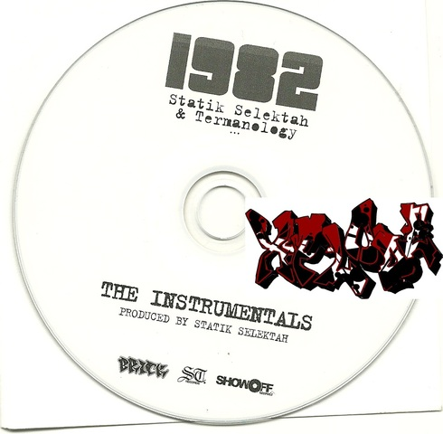 Cover: Statik Selektah And Termanology - 1982 Instrumentals-CDR-2010-Xplode