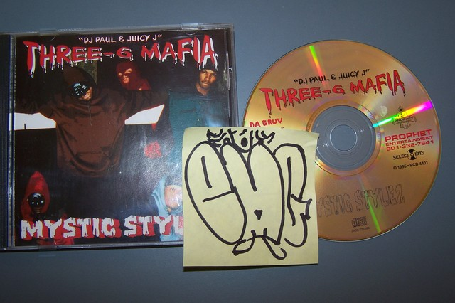 Cover: Three 6 Mafia - Mystic Stylez-(PCD-4401)-CD-FLAC-1995-EMG