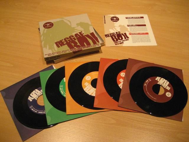 Cover: VA - Majestic Reggae Box-(5x7inch_Vinyl)-2011-H3X
