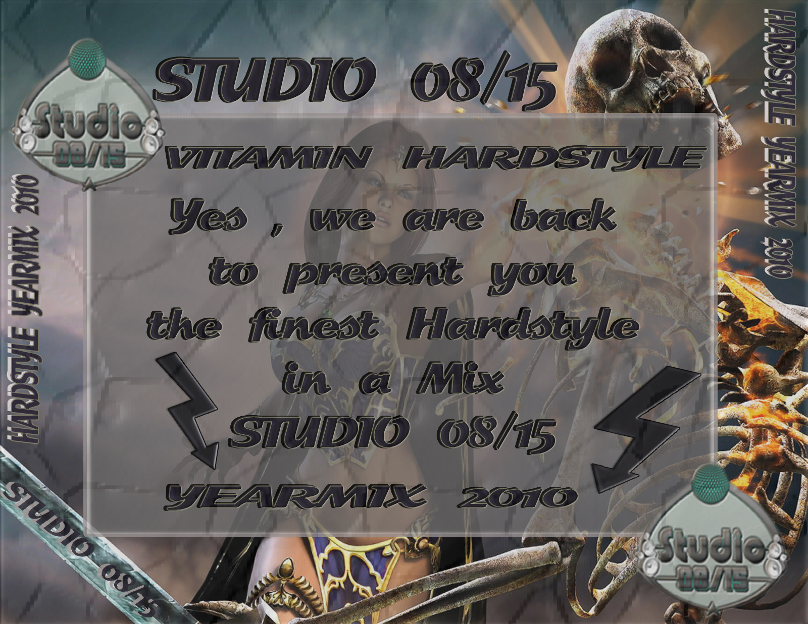 Va-Studio 0815-Vitamin Hardstyle Yearmix 2010