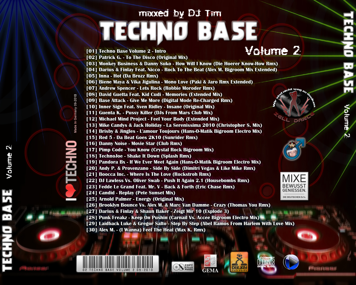 Va-Techno Base Volume 02-2010