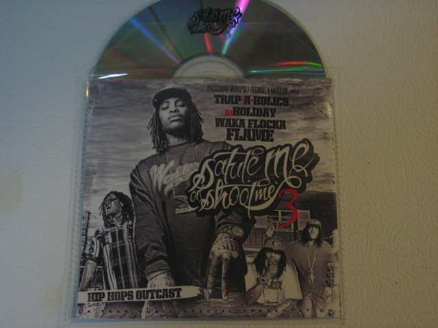 Cover: Waka Flocka Flame - Salute Me Or Shoot Me 3-(Bootleg)-2011-H3X