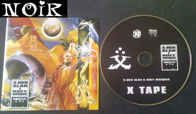 Cover: X-Men Klan und Roey Marquis - X Tape-DE-2010-NOiR