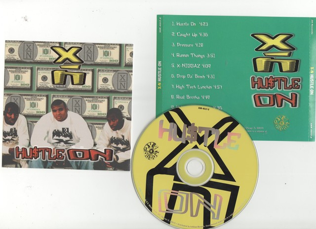 Cover: X-N - Hustle On-1996-CR