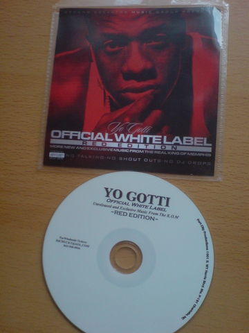 Cover: Yo Gotti - Official White Label (Red Edition)-Bootleg-2011-UMT