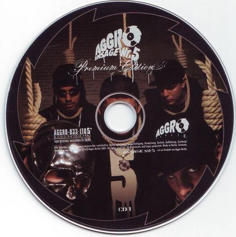 Cover: Aggro - Ansage Nr.5 (Premium Edition)-2CD-DE-2005-kHz