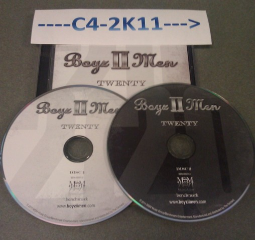 Cover: Boyz II Men - Twenty-2CD-2011-C4