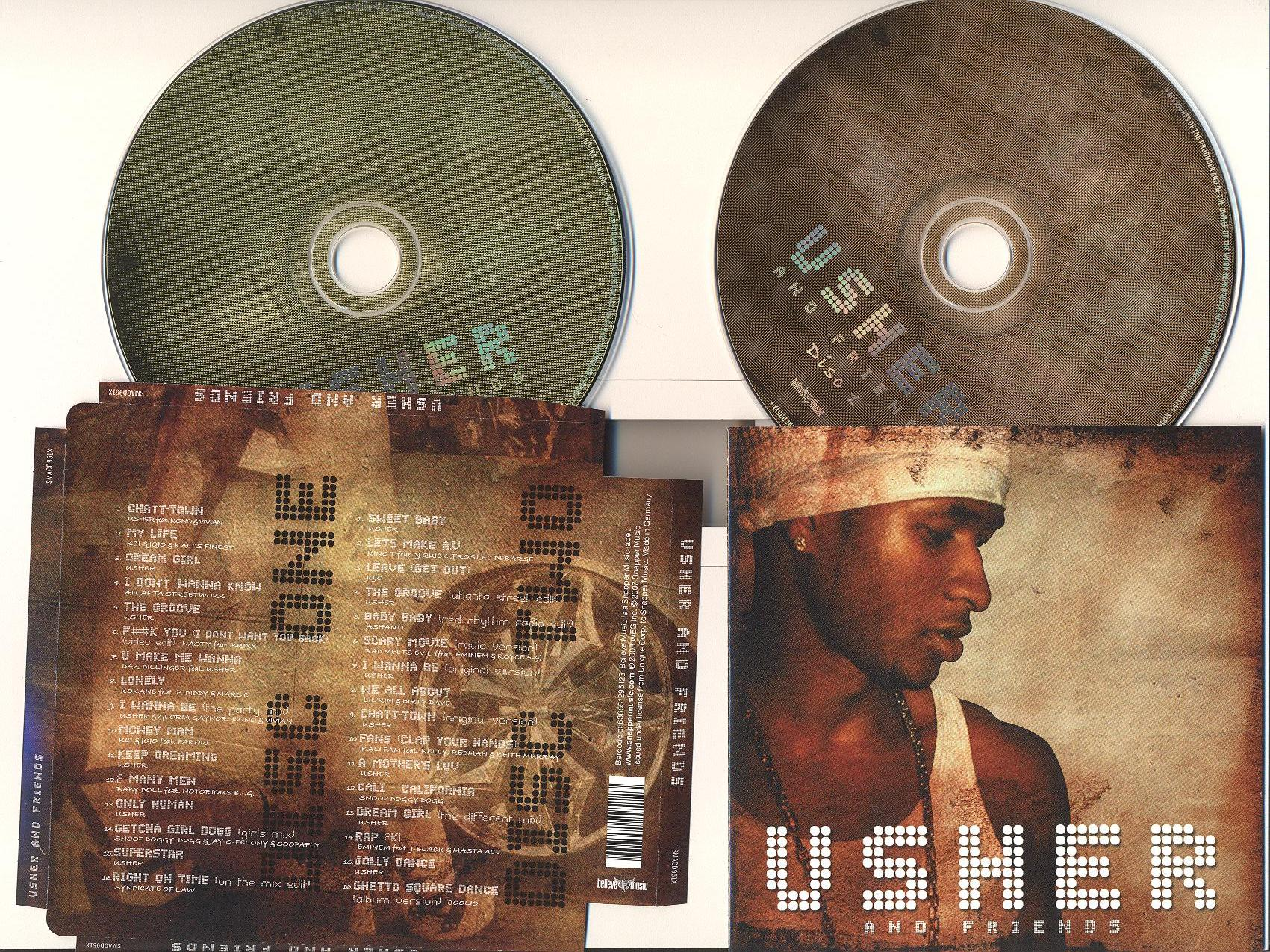 Usher and Friends-2Cd-2010
