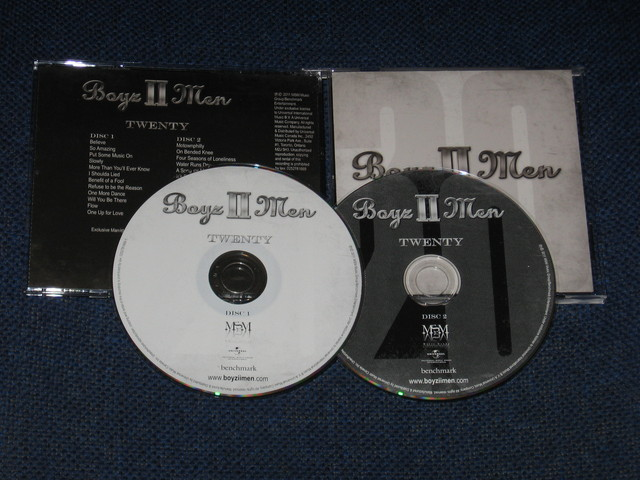 Cover: Boyz II Men - Twenty-(Proper)-2CD-2011-MTD
