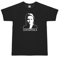 Zensursula T-Shirt gratis