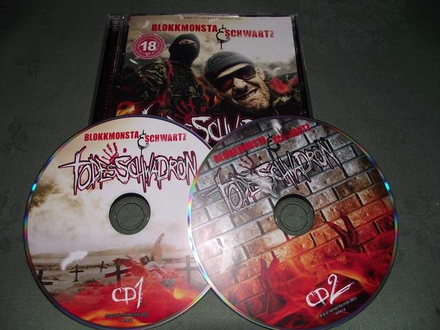 Cover: Blokkmonsta und Schwartz - Todesschwadron-2CD-DE-2011-VOiCE