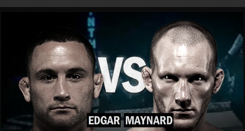 Edgar vs. Maynard (Foto via Zuffa LLC)