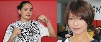 Bolormaa Erdenebileg (2-1) vs. Hiroko Yamanaka (11-1) (Fotos via mmarising.com/Sherdog.com)