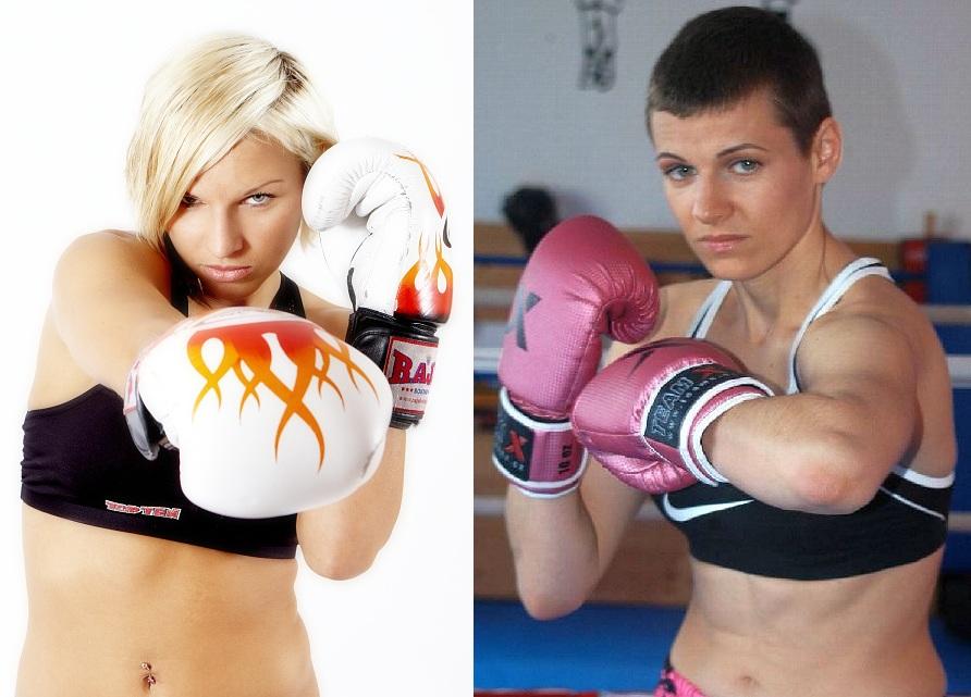 Alena Hola vs. Myra Winkelmann (Foto: wkfkickboxing.net/knockoutmagazine.cz)