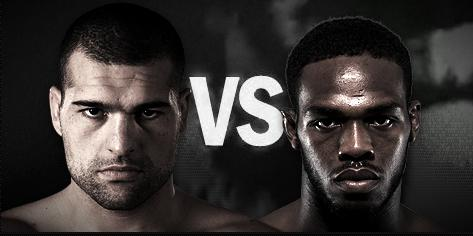Mauricio Rua (c) (19-4) vs. Jon Jones (12-1) [Foto via UFC.com]
