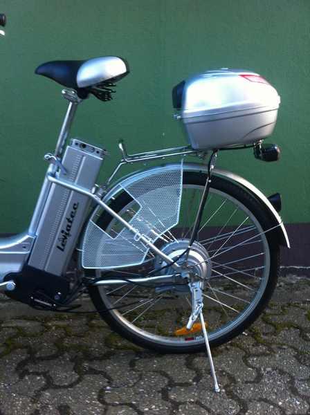 elektrofahrrad e bike leviatec z1 silber 36v 250watt akku. Black Bedroom Furniture Sets. Home Design Ideas
